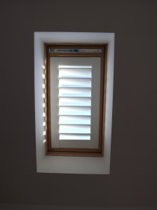 Velux Window Fitted with a Shutter