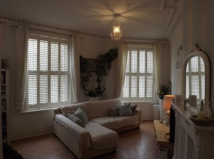 After shutters were fitted